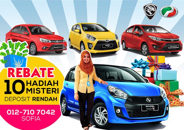 Jualan Hujung Tahun 2016 – Perodua Johor